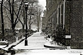 Bolton Hill, Baltimore, Maryland. Ilford HP5+ 400 35mm BW negative film.
