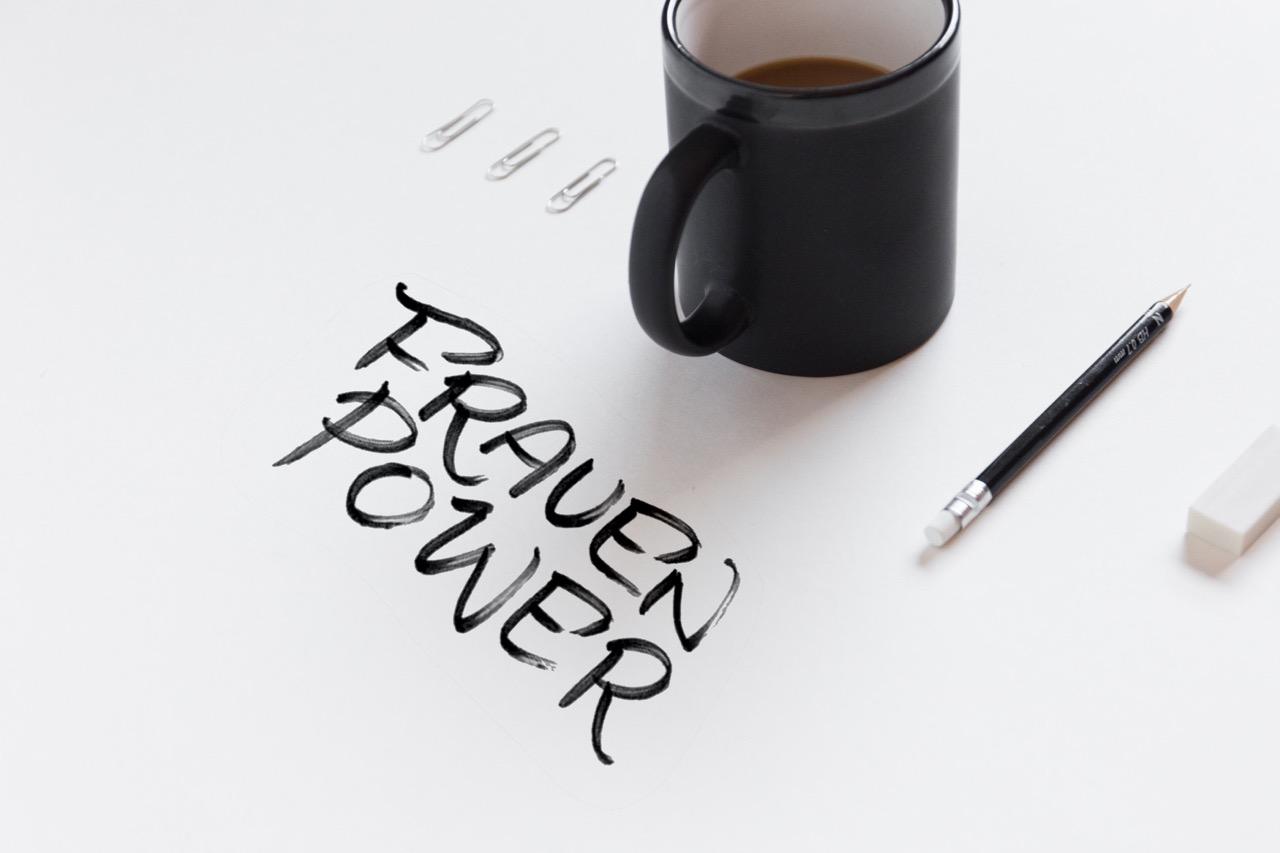 FrauenPower Hand-Lettering