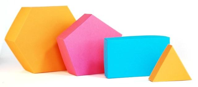 Schachteln Basteln Teil 3 Konvexe Polygone Bunte Galerie