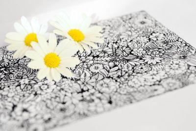 Blumen-Doodle