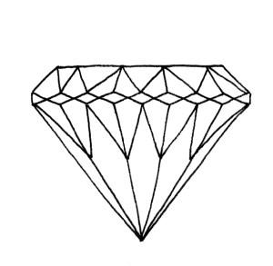 Diamant Zeichnen Schritt Für Schritt Bunte Galerie