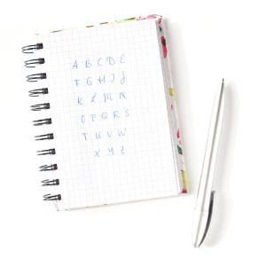 Alphabet der Grossbuchstaben in meiner Handschrift