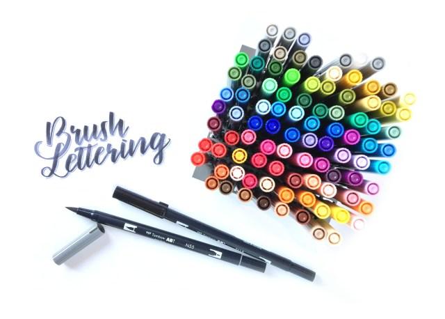 Brushlettering lernen mit Bunte Galerie