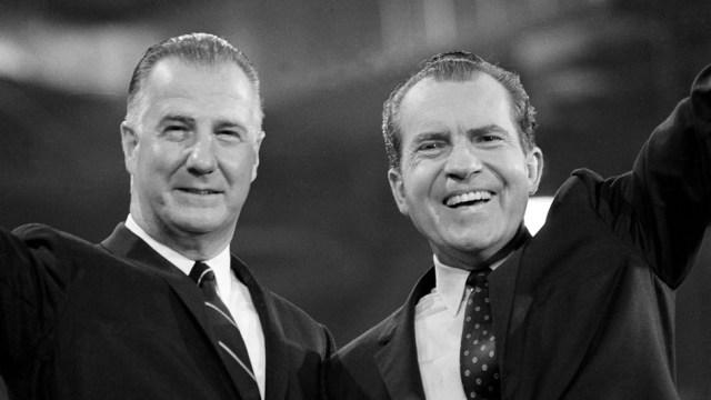 Spiro Agnew Richard Nixon impeachment