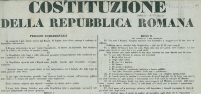 costituzione repubblica romana