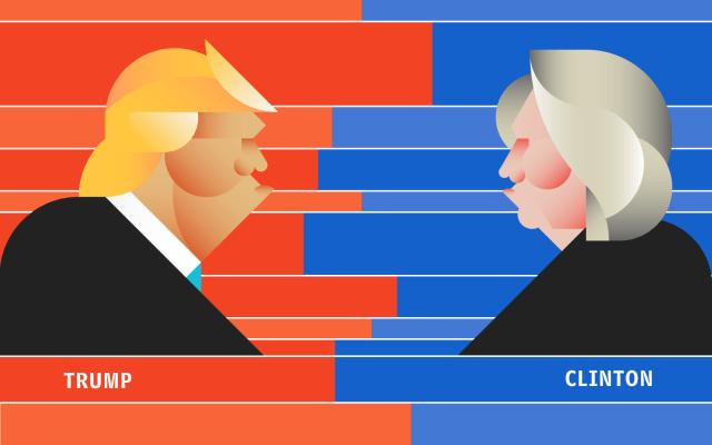 clinton trump sondaggi elettorali