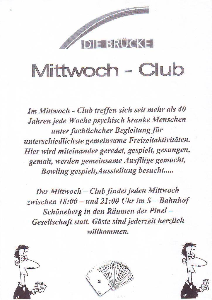 BS Info - Mittwoch-Club 20160127 ©Pinel