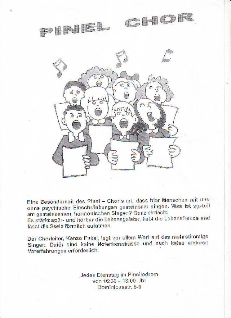 BS Info - Pinel-Chor 20160127 ©Pinel