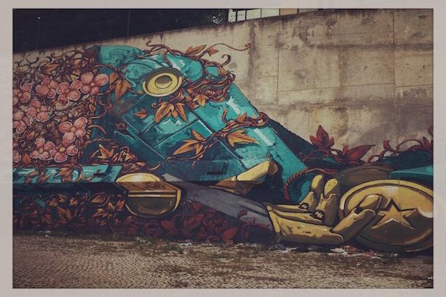 Street Art in Lissabon * BUNTERwegs.com