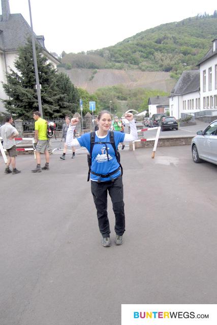 Die erste Schleife der 24-Stunden-Wanderung ist geschafft