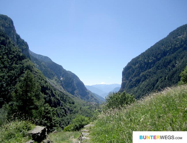 Die Via Spluga von Isola bis Chiavenna * BUNTERwegs.com