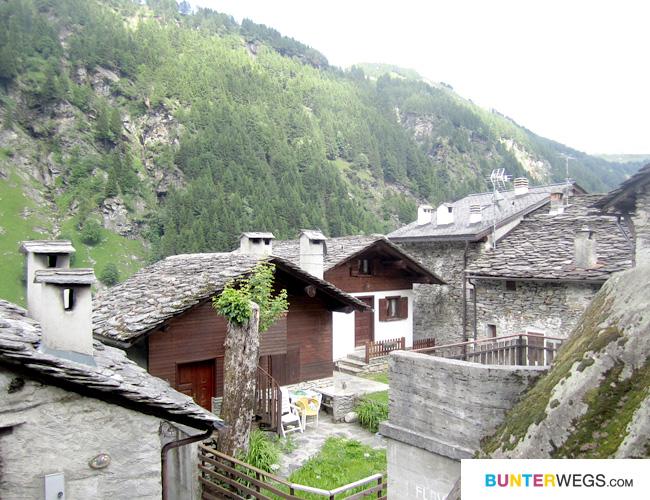 Mottaletta in Italien * Via Spluga * BUNTERwegs.com