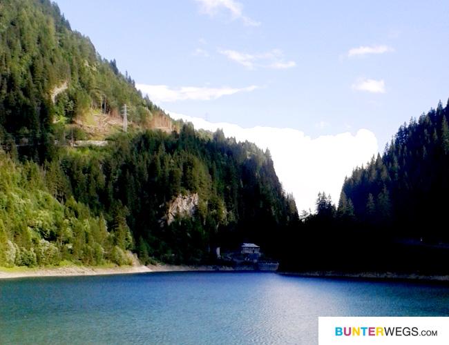 Der Stausee * Isola * Italien * Via Spluga * BUNTERwegs.com