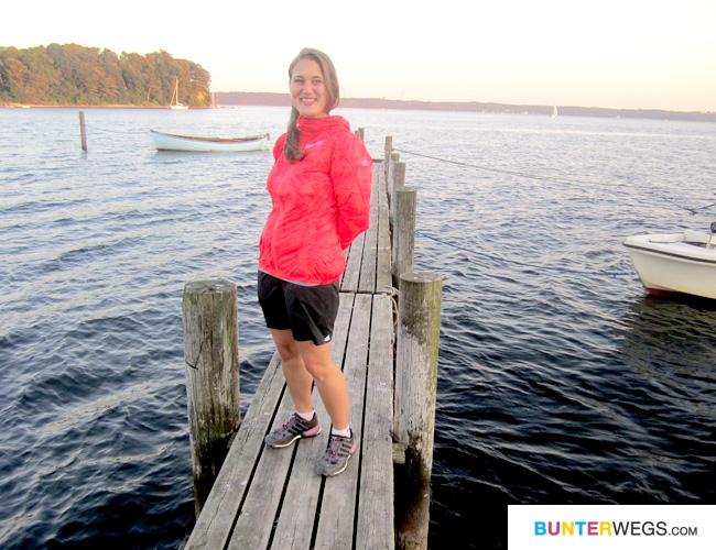 Jessie von BUNTERwegs.com in der Wms Terrex Agravic Wind Jacke von Adidas Outdoor