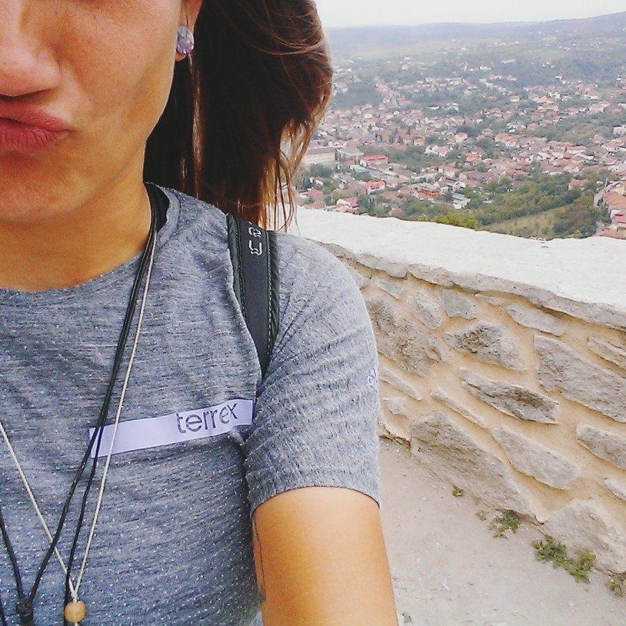 Jessie von BUNTERwegs in Deva, Rumänien * BUNTERwegs. Der Outdoor Blog mit Liebe zum Wandern und zur Street Art