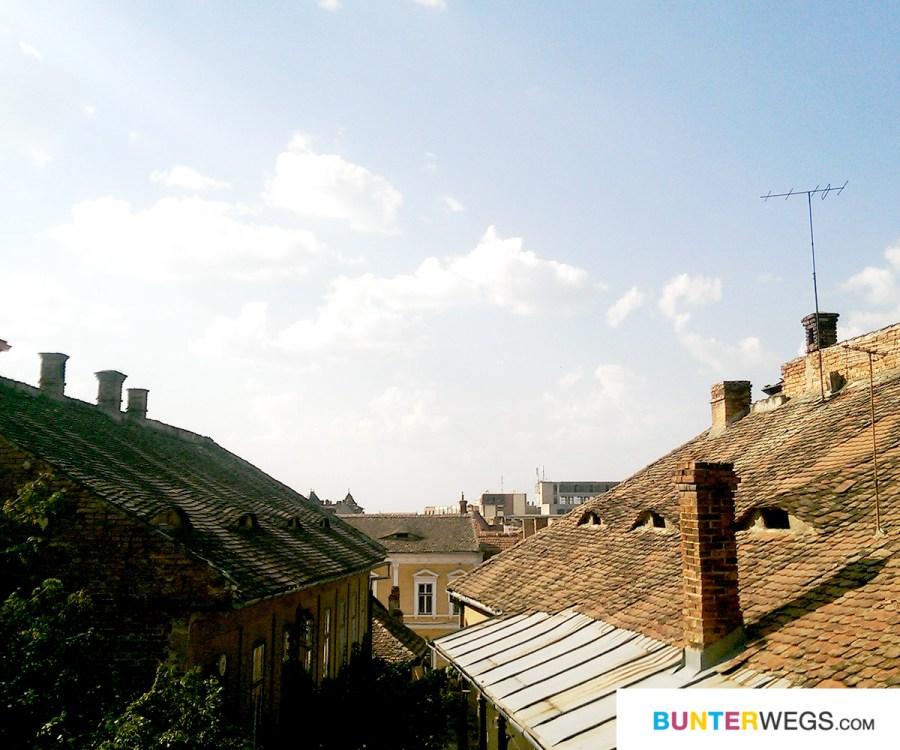 Über den Dächern von Sibiu, Rumänien * BUNTERwegs. Der Outdoor Blog mit Liebe zum Wandern und zur Street Art