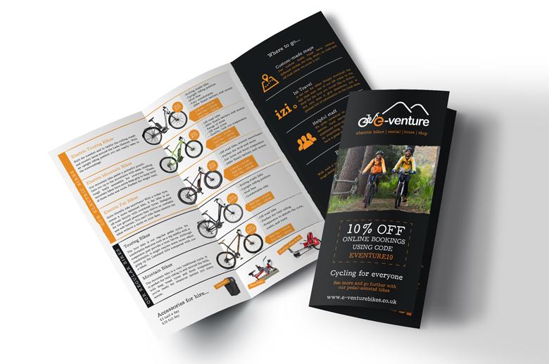 bike leaflet design