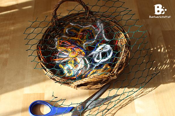 Nestmaterial für Vögel