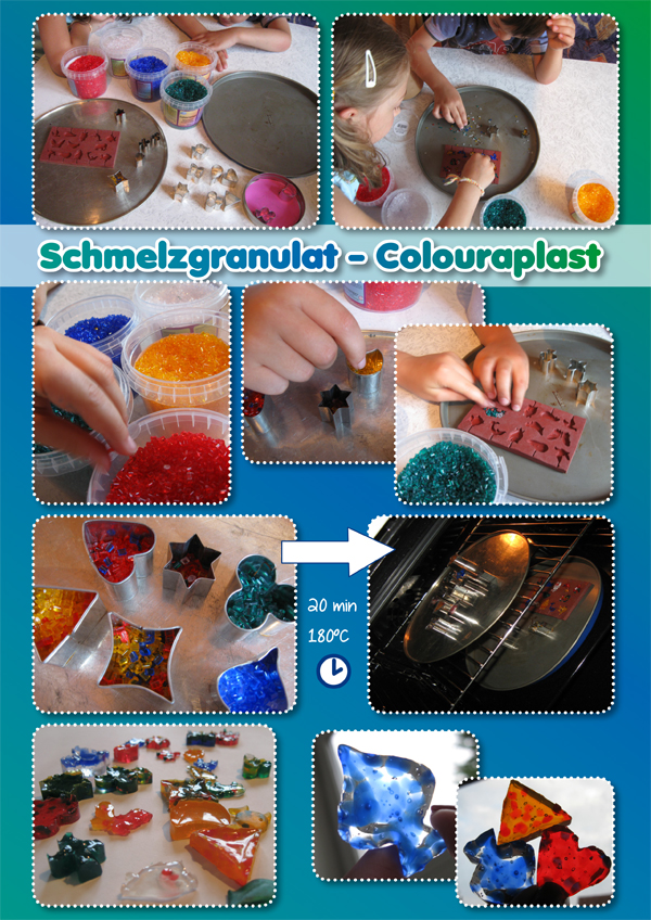 Schmelzgranulat – Colouraplast