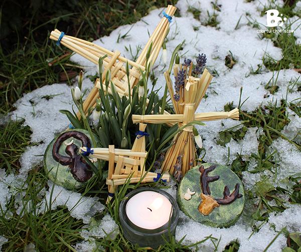Imbolc Brigid Kreuz