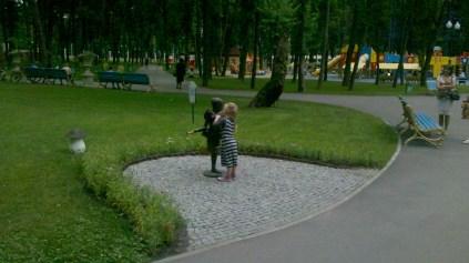 Балерини парку Горського