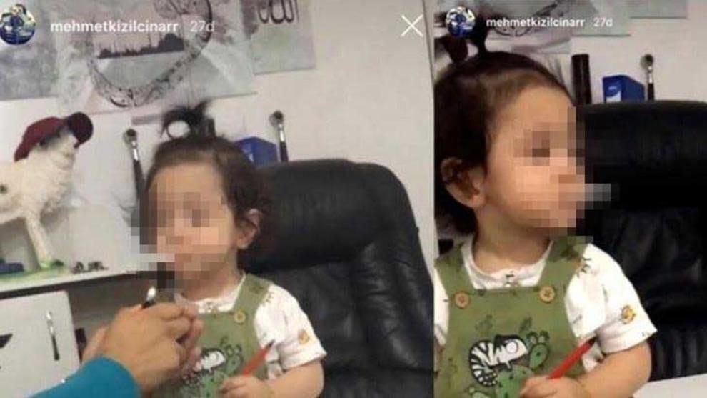 Fa fumare una sigaretta alla nipotina di 3 anni, poi ride: arrestato lo zio. Il video choc sui social
