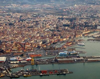 Livorno dallaereo 1