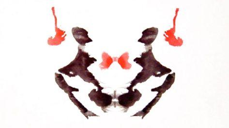 Test Rorschach - Tavola numero 3 utile a capire la personalità.