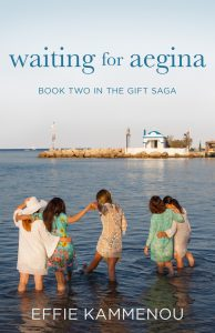 Waiting for Aegina 194x300 Audiobook Blitz: Evanthias Gift by Effie Kammenou