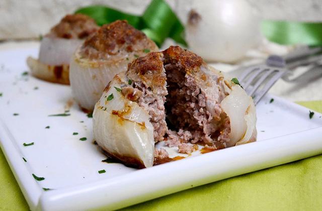 Cipolle Ripiene Con Carne