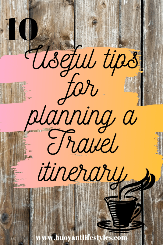 tips for planning a travel itinerary + planning a travel itinerary + travel itinerary planner + travel planning guide + guide to plan your travel #travelitinerary #travelplanning