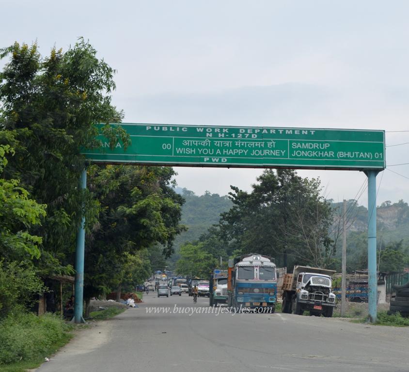 #Roadtrip #SamdrupJongkhar #Bhutan #IndiantravelBlogger