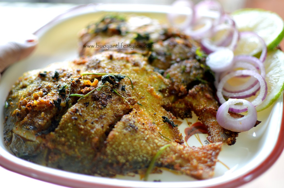 How to make Crispy Fried Pomfret in a few easy steps!