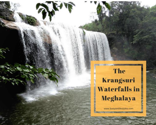 #meghalaya #krangsuriwaterfalls #indiantravelblogger #guwahatiblogger