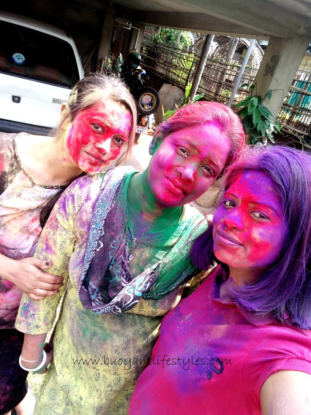 Holi- festival of colors in Incredible India