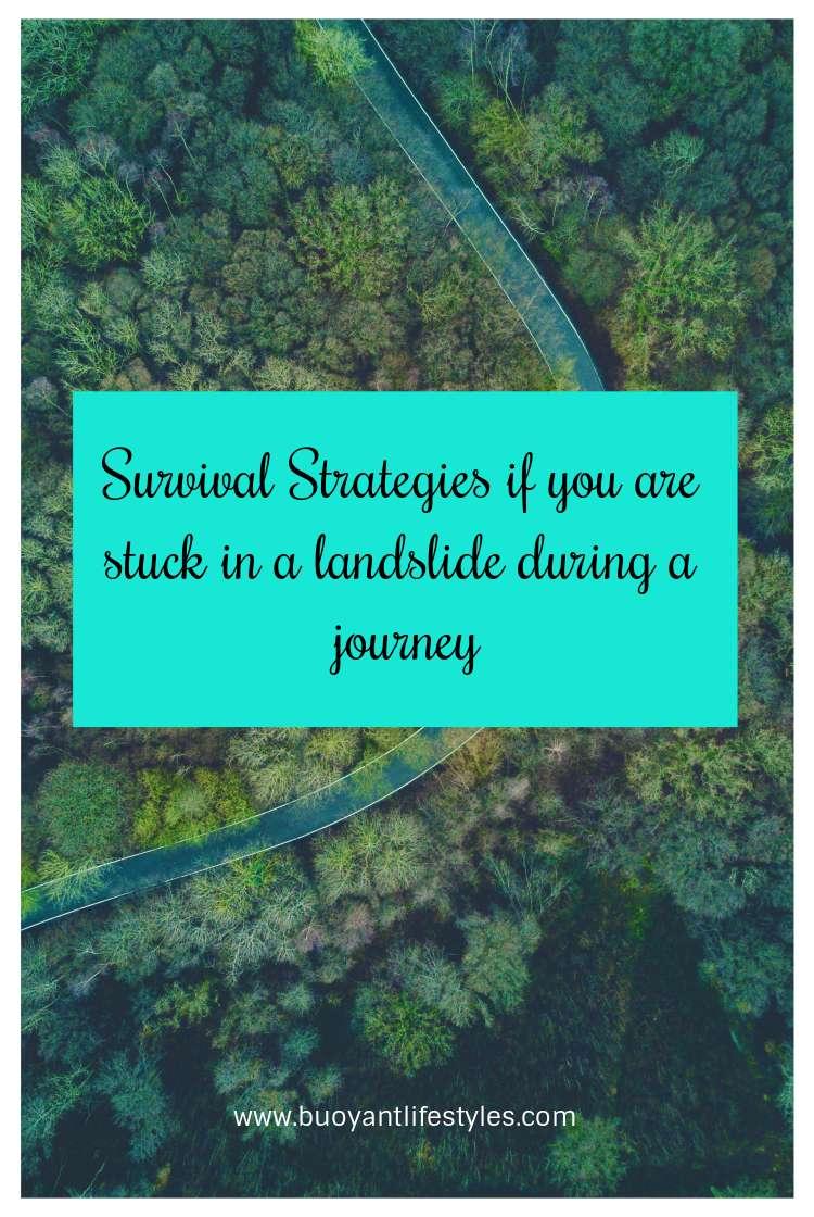 #landslides #survival #strategies #travelblogger #blogger