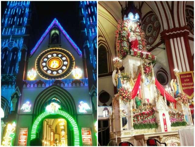 #christmas #pondicherry #guwahatiblogger