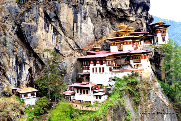 My experience of hiking to The Tiger's Nest Maonastery in Paro, Bhutan