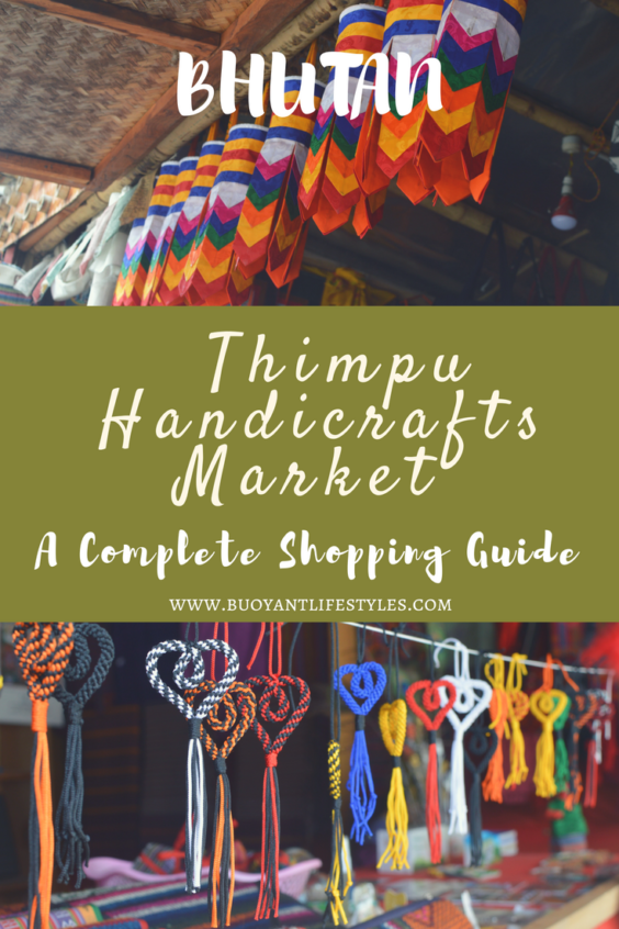 Thimpu Handicraft market, bhutan travel guide,