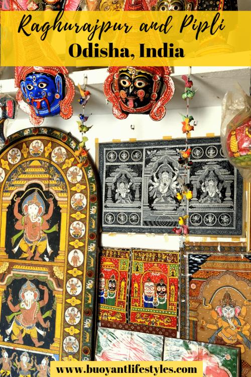 #raghurajpur #pipli + Patachitra of Odisha #odishaheritagevillage #odishatourism + Heritage villages in Odisha + Pipli + Raghurajpur + Off beat places in Odisha