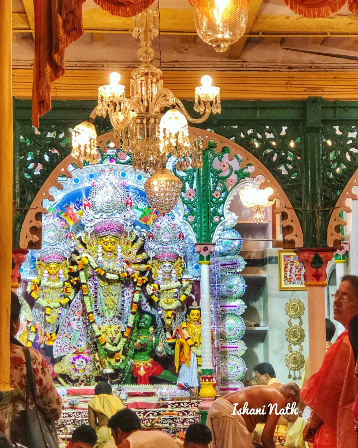A visit to the Bonedi Barir Durga Puja in Kolkata, India