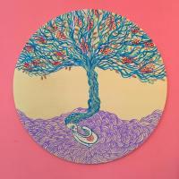 L'albero della vita da stampare e colorare
