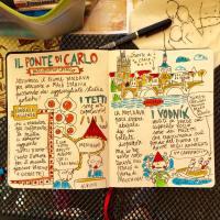 Diario di viaggio disegnato di Praga (davvero poco serio)