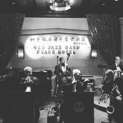 Head to Peace Hotel at 7 pm to see the world's oldest jazz band