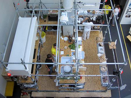scaffolding kitchen