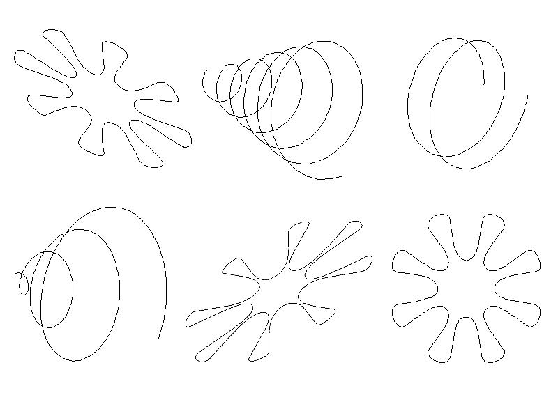 Camera-n path variations.