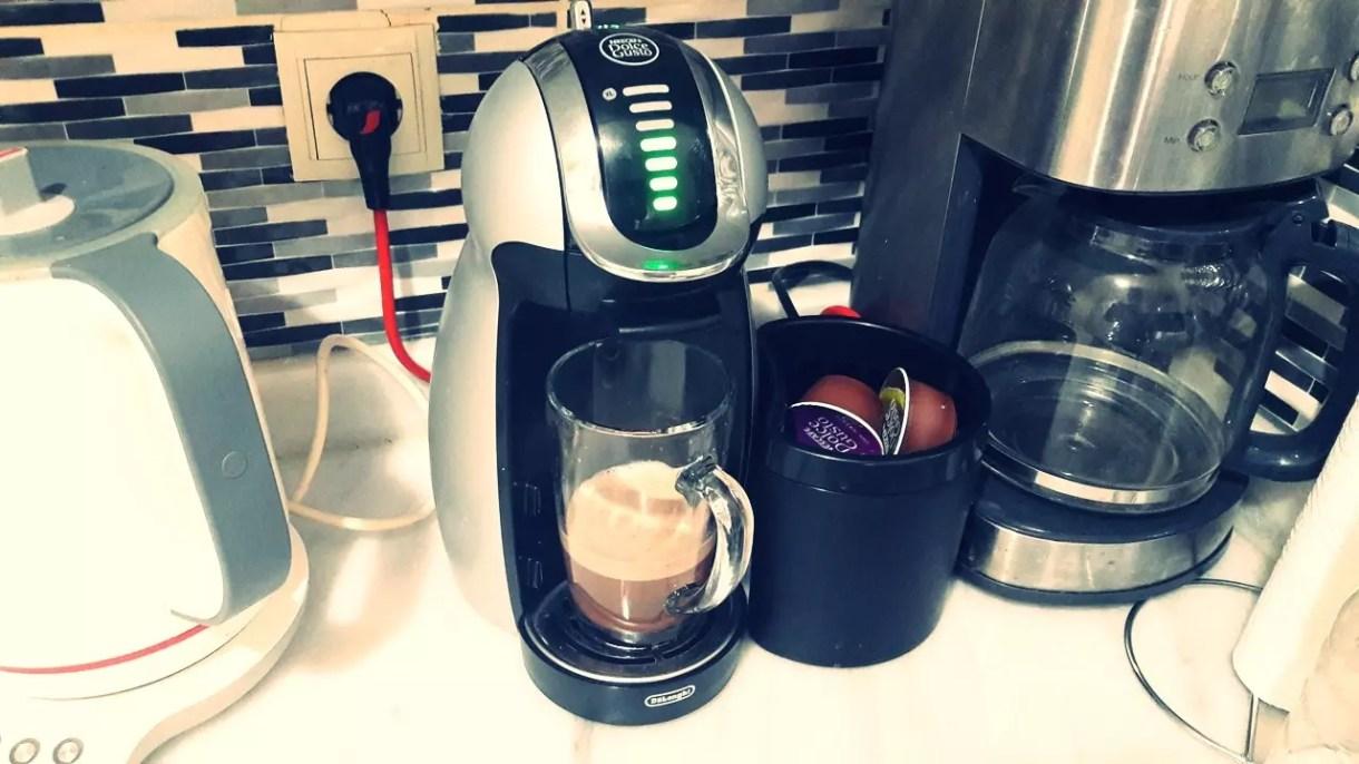 Dolce-Gusto Kapsüllü Kahve Makinesi