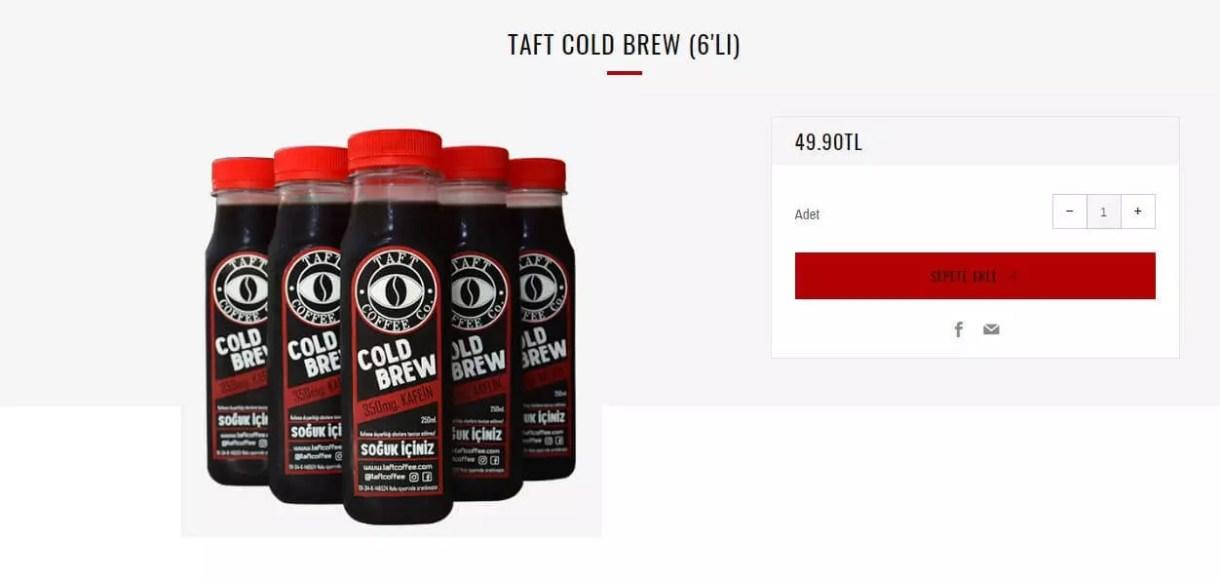 Taft Coffee Cold Brew