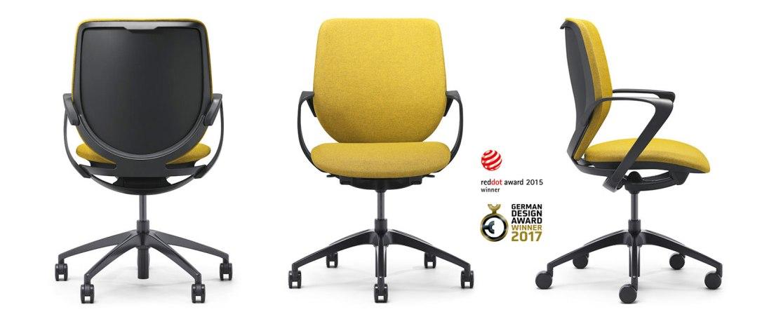 chaise bureau ergonomique Burama 4