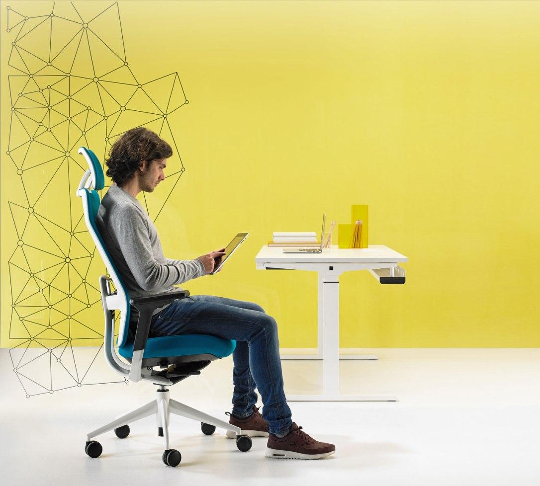 chaise bureau ergonomique Burama 2